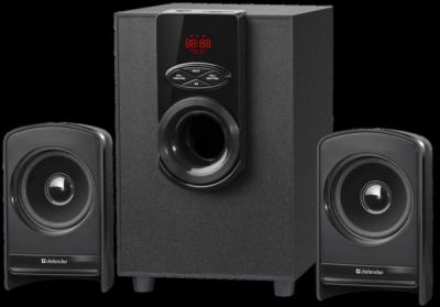 Акустическая 2.1 система X261 26Вт, BT/FM/MP3/SD/USB/LED/RC