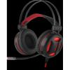 Игровая гарнитура Minos красный + черный, кабель 2 м