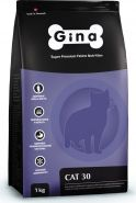 Gina Cat 30 Denmark Полнорационный сбалансированный корм для взрослых кошек с нормальным уровнем активности, 7.5кг