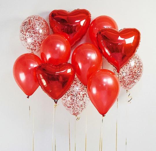Набор шаров Люблю - Для Неё