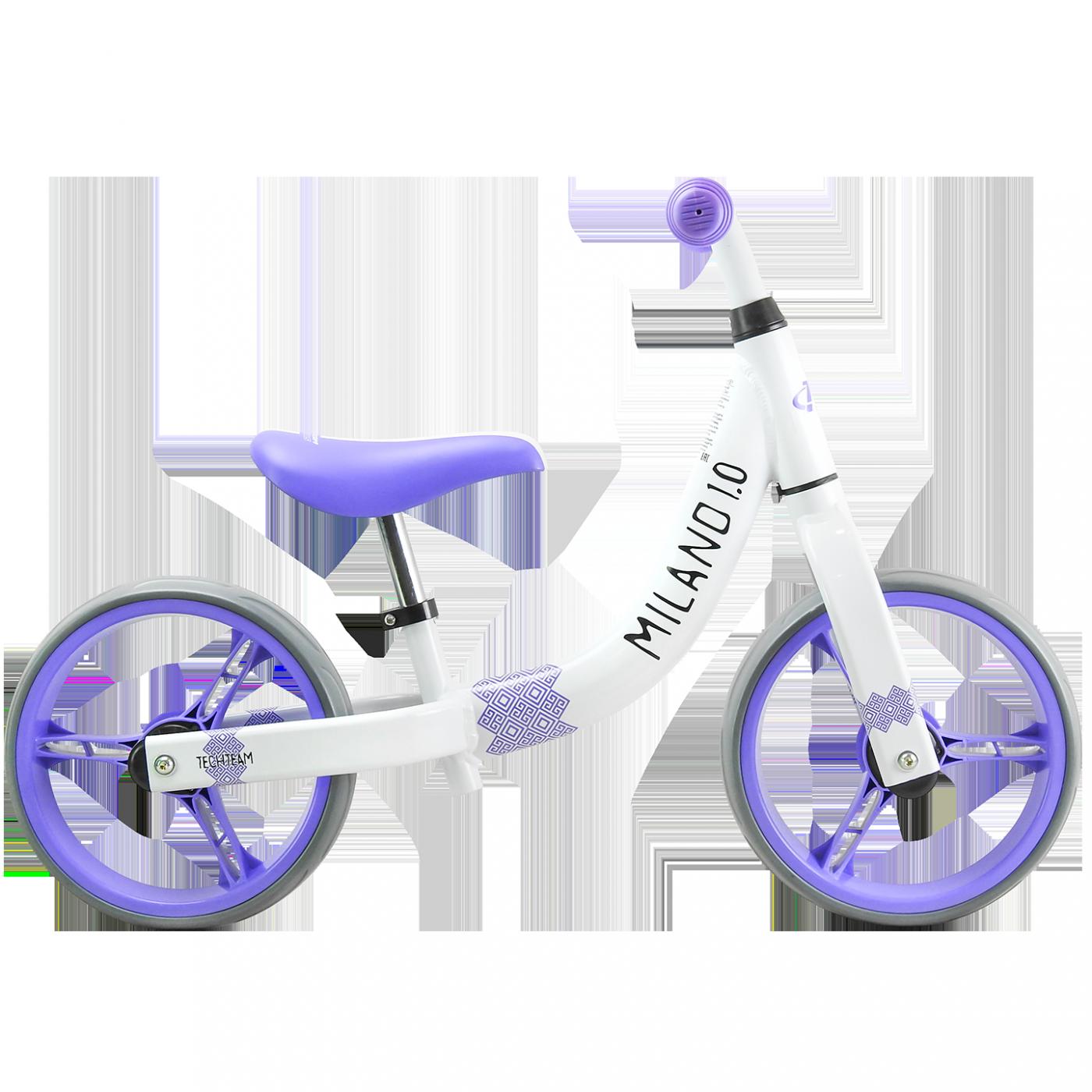 Беговел ТТ Milano 1 2019 белый-фиолетовый
