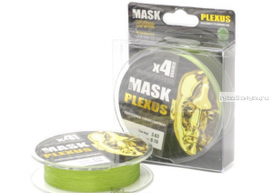 Леска плетеная Akkoi Mask Plexus X4 150 м / цвет: Green