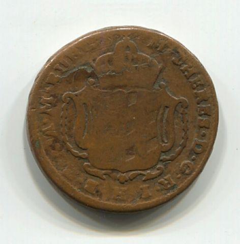 1 крейцер 1772 года G Бургау Австрия