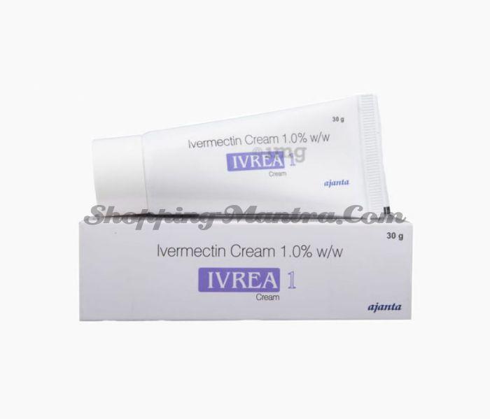 Ивреа антипаразитарный крем (ивермектин 1%) Аджанта Фарма | Ajanta Pharma Ivrea Cream Ivermectin 1%