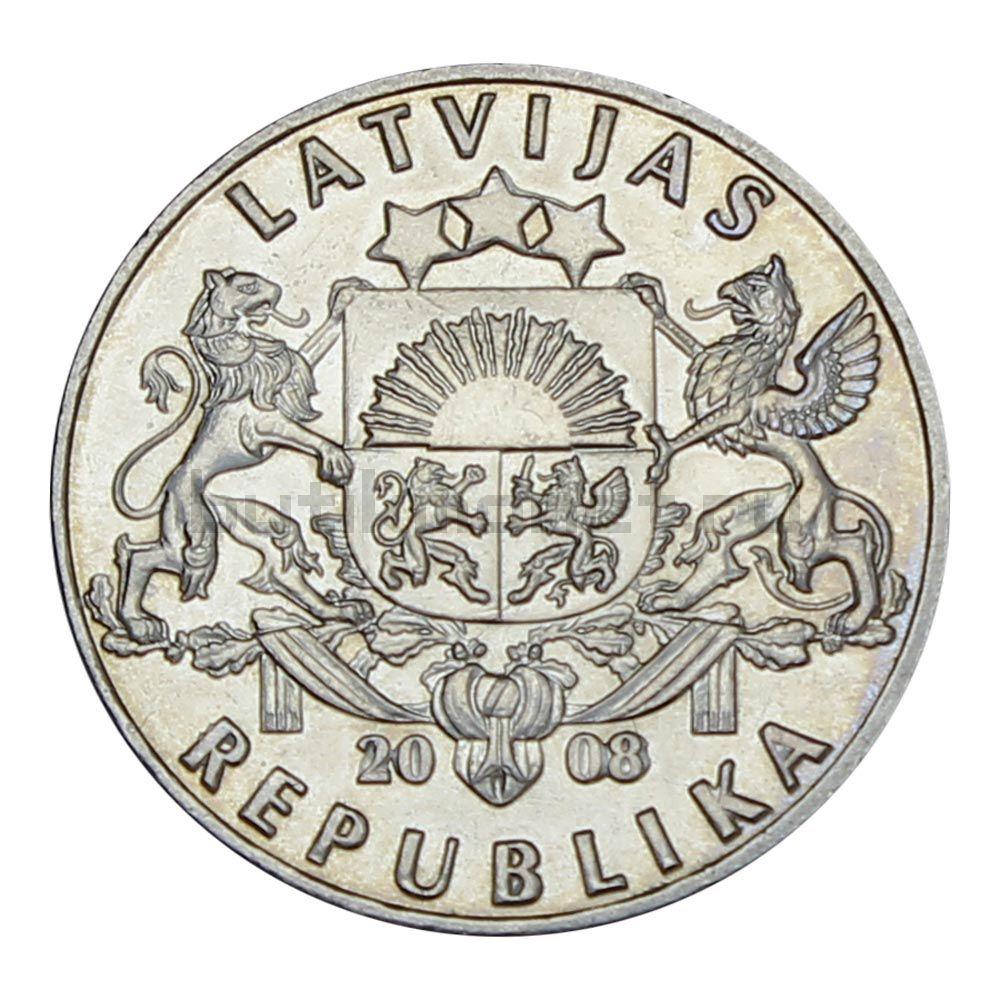 1 лат 2008 Латвия Рыба