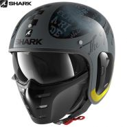 Шлем Shark S-Drak 2 Tripp In, Серо-черный