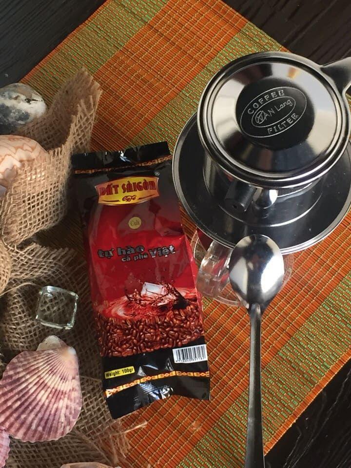 Кофе в зернах, 100 г. CuLi DAT SAIGON Кули Дат Сайгон
