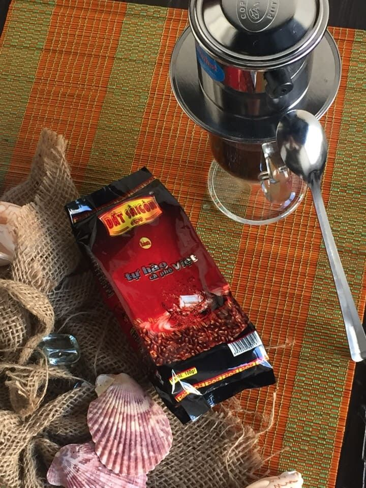Кофе в зернах, 100 г. Robusta DAT SAIGON Робуста Дат Сайгон