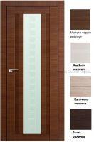 16Х Квадро дверь со стеклом PROFIL DOORS