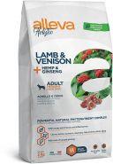Alleva Holistic Lamb & Venison + Hemp & Ginseng Medium/Maxi Полнорационный сухой корм для взрослых собак средних и крупных пород с ягненком и олениной, 2кг