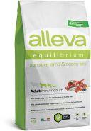 Alleva Equilibrium Sensitive Lamb & Ocean Fish Mini/Medium Полнорационный сухой корм для взрослых собак мелких и средних пород с ягненком и океанической рыбой, 2кг