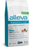 Alleva Equilibrium Sensitive Ocean Fish Medium/Maxi Полнорационный сухой корм для взрослых собак средних и крупных пород с океанической рыбой, 12кг