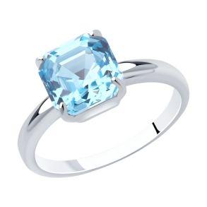 Кольцо из серебра 94013124 SOKOLOV