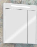 Зеркальный шкаф Акватон Сильва 60 дуб полярный 1A216202SIW70