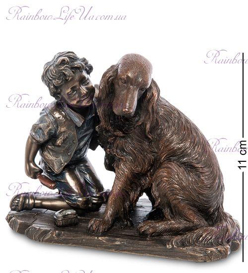 """Статуэтка мальчик с собакой """"Veronese"""""""