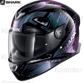 Шлем Shark Skwal 2 Venger, Черный блестящий