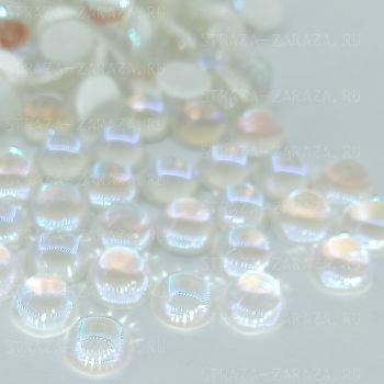 DeLuxe Хрустальные Полубусины Crystal_DeLight 6мм