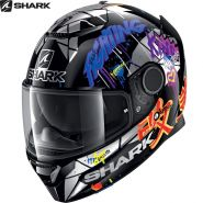 Шлем Shark Spartan 1.2 Repliсa Lorenzo Catalunya Gp, Синий