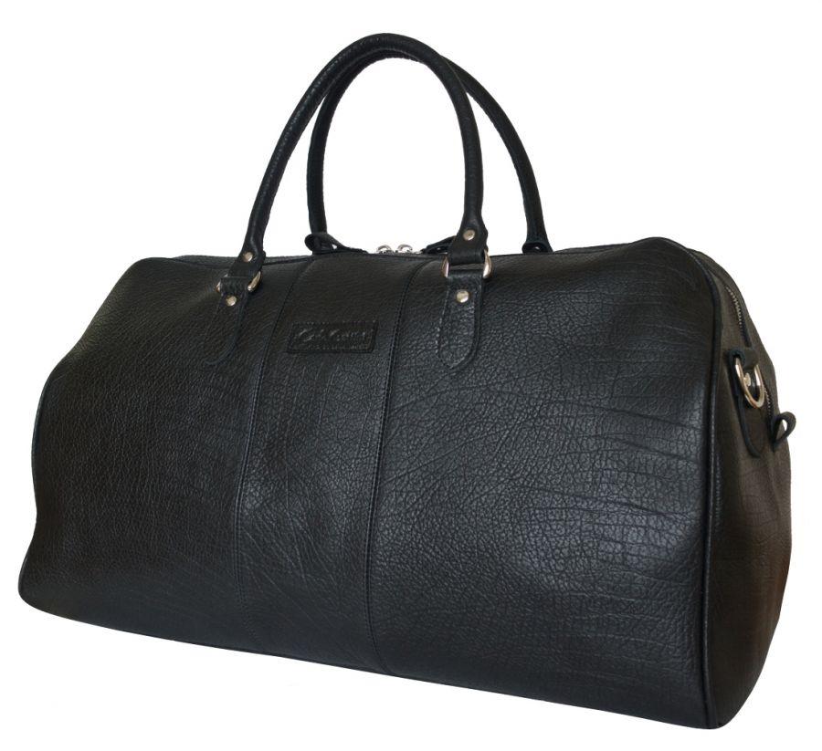 Кожаная дорожная сумка Carlo Gattini Campelli black