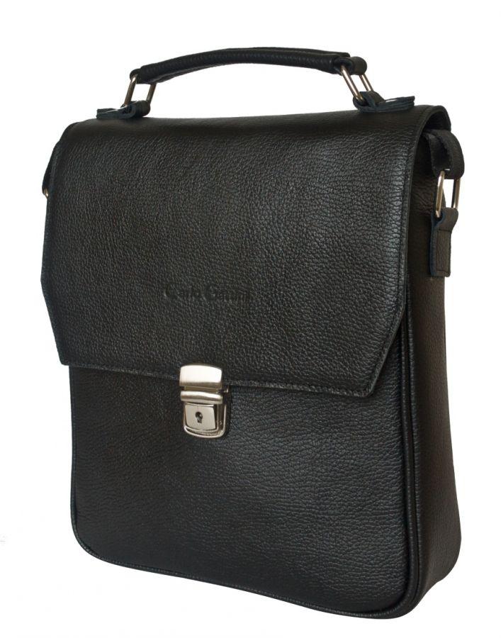 Кожаная мужская сумка Carlo Gattini Rovetta black