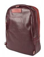 Кожаный рюкзак Carlo Gattini Albera burgundy/red