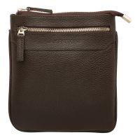 Мужская сумка через плечо LAKESTONE Hutton Brown