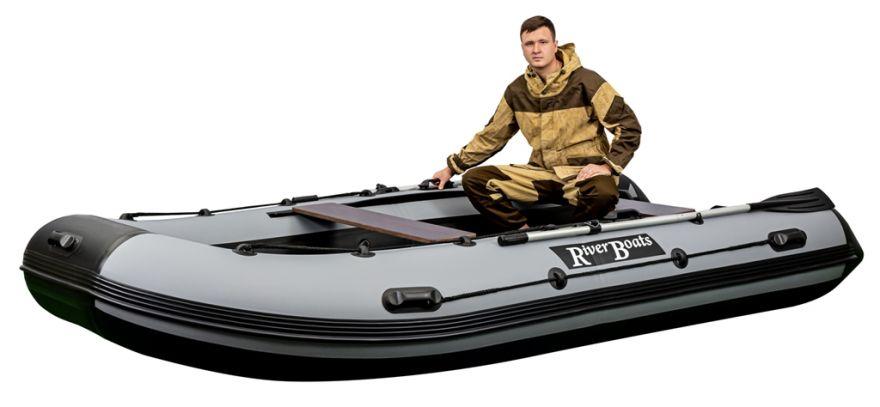 Лодка ПВХ RiverBoats RB 430 НДНД