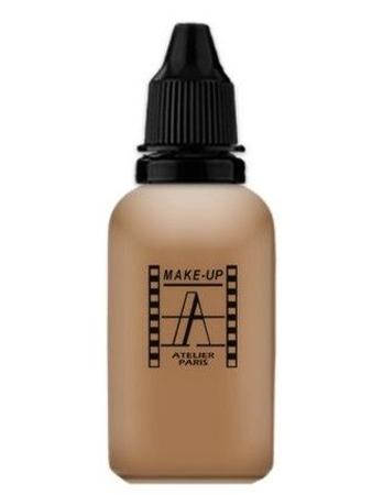 Make-Up Atelier Paris HD Fluid Foundation Beige AIR6NB Тон-флюид водостойкий для аэрографа 6NB темный натурально-бежевый
