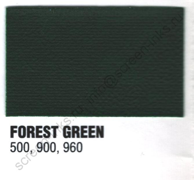 Краска пластизоль Excalibur 500 Forest Green / Лесной Зеленый (5 кг.)