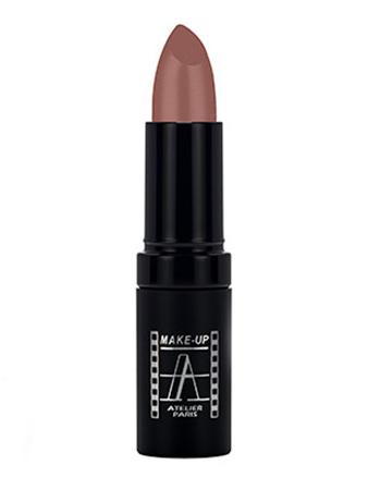 "Make-Up Atelier Paris Cristal Lipstick B03 Помада ""Кристалл"" пурпурный коричневый"