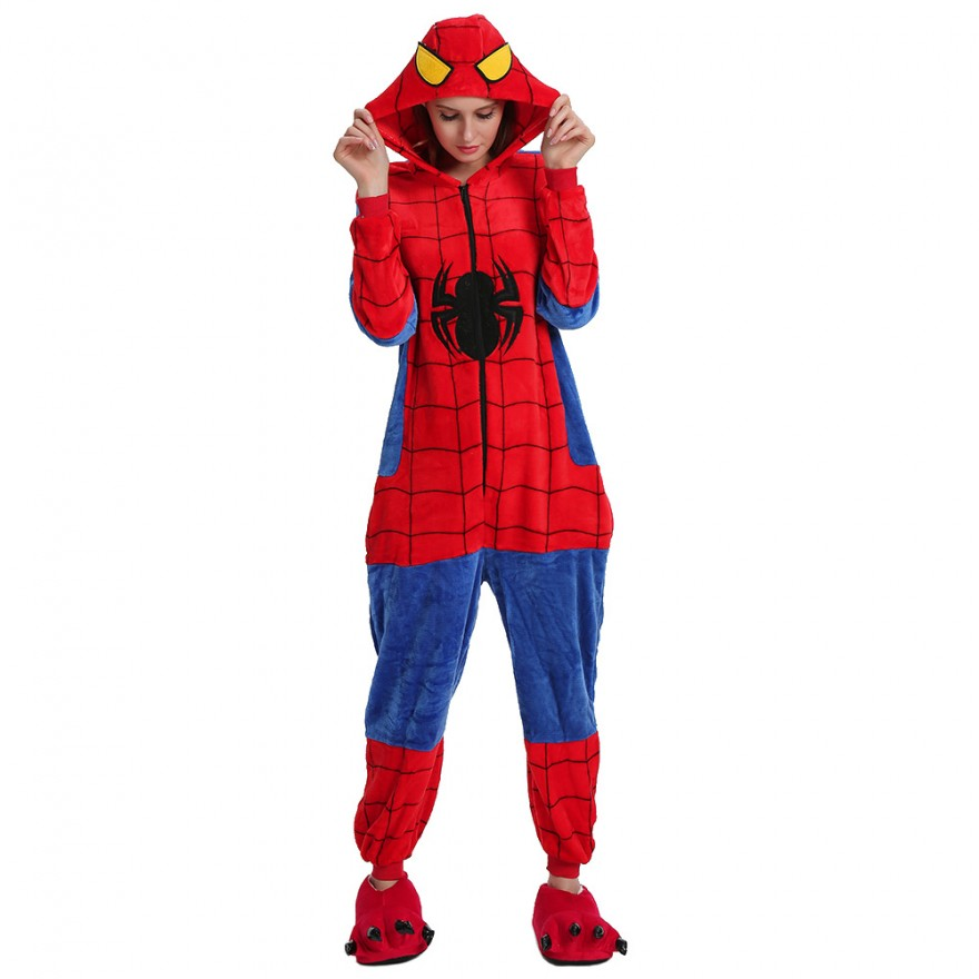 Пижама Кигуруми Человек-Паук