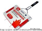 GRIFON Premium Решетка Гриль 35 х 26 х 3см, с чехлом, нерж.сталь 2мм, шт