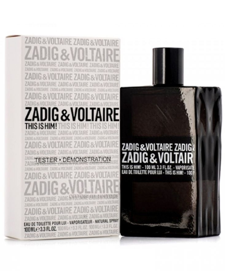 Tестер Zadig & Voltaire This is Him 100 мл