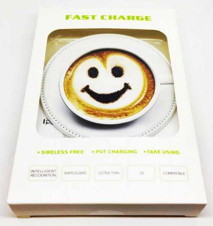 Беспроводное зарядное устройство Кофе