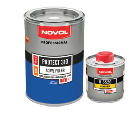 Грунт акриловый PROTECT 310 Novol серый