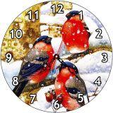 Часы деревянные СНЕГИРИ ЧС-02.27