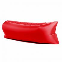 Надувной матрас гамак, красный