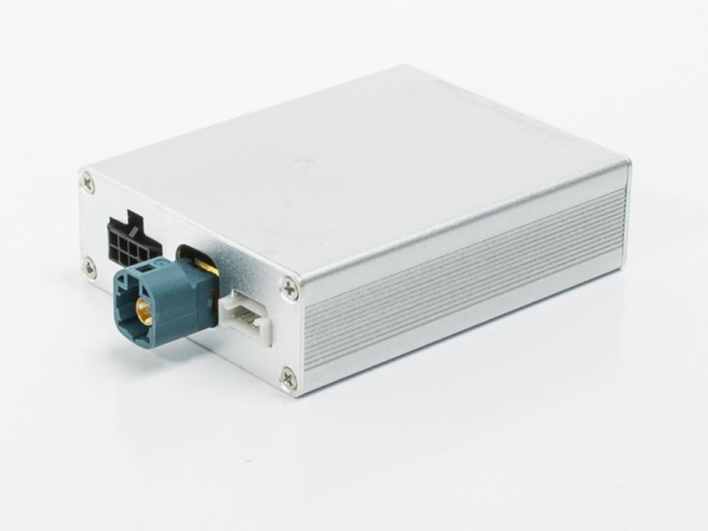 Видеоинтерфейс AVS02i (#02) для подключения камер переднего и заднего вида к заводскому ГУ для Audi / Volkswagen