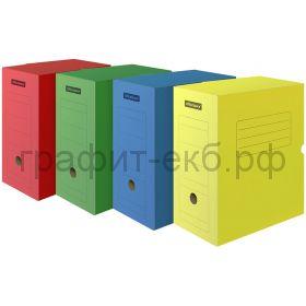Короб архивный 15см OfficeSpace картон на 1400л. 225415