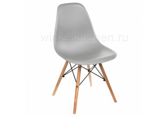 Стул деревянный Eames PC-015 grey