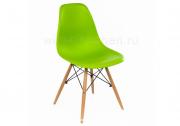 Стул деревянный Eames PC-015 green