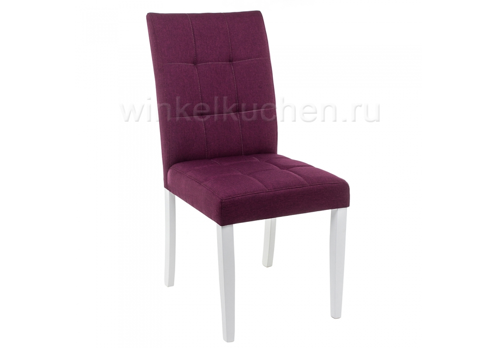 Madina white / fabric purple