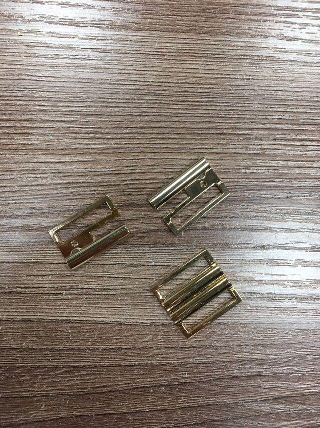 золото Пряжка металл под резинку 20мм