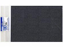 Материал для диорам на бумажной основе,  булыжная мостовая (средняя), размер А4 (297х210мм). Может краситься эмалевыми и акриловыми красками
