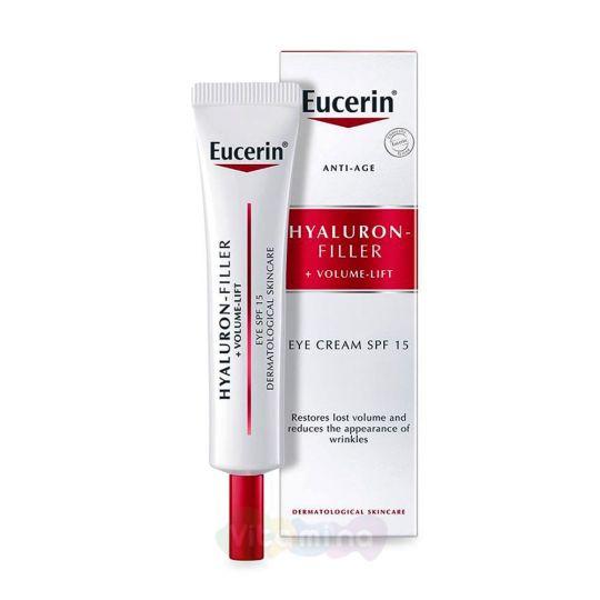 Eucerin Hyaluron-filler+volume lift Крем для ухода за кожей вокруг глаз, 15 мл