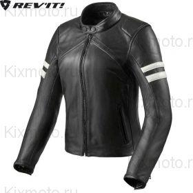 Куртка Revit Meridian женская, Чёрно-белая