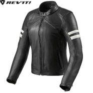 Мотокуртка женская Revit Meridian, Черно-белая