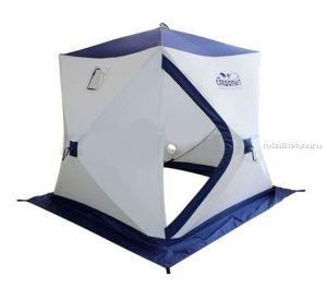 Палатка зимняя Следопыт Куб трёхслойная 1,95х1,95м PF-TW-08