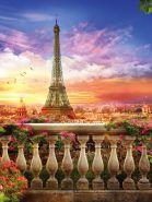 """Фон стена """"Paris№1"""" 2х1.5м"""