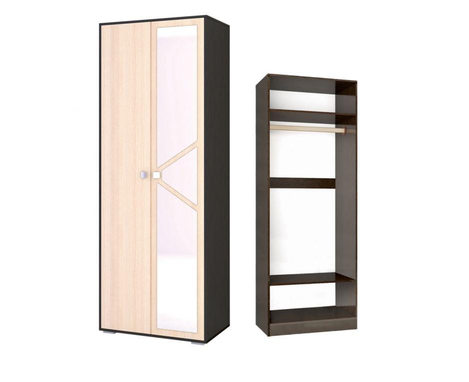 Шкаф 2-х створчатый платяной Ненси-2